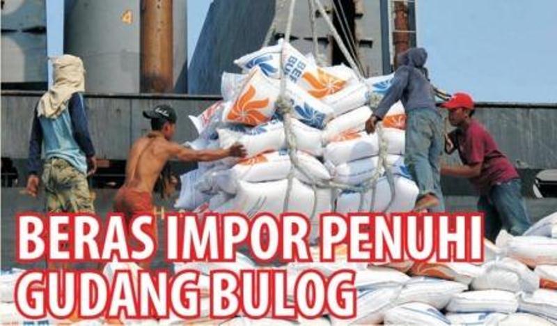 Panen raya padi yang terjadi ternyata tidak membuat serapan beras Perum Bulog melonjak. Bahkan, gudang-gudang Bulog lebih banyak menampung beras impor, yang sampai Maret 2016 sudah terealisasi 1,5 juta ton.…