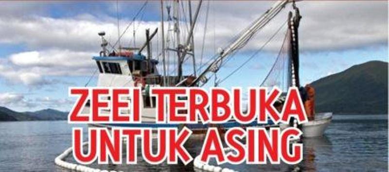 Menteri Kelautan dan Perikanan Susi Pudjiastuti menolak keras masuknya investasi asing dalam penangkapan ikan di perairan Indonesia. Bermodal Perpres No. 44/2016 tentang bidang usaha yang tertutup dan terbuka dengan persyaratan,…