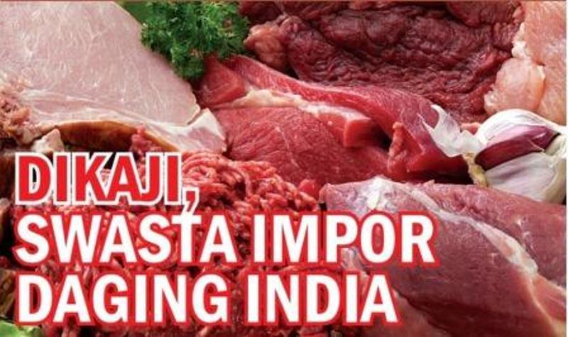 """Kebijakan stabilisasi harga daging sapi dalam negeri terbukti gagal. Sampai kini, harga daging sapi tak bisa turun di bawah Rp100.000/kg. Padahal, kebijakan """"riskan"""" membebaskan impor daging kerbau dari India, yang…"""