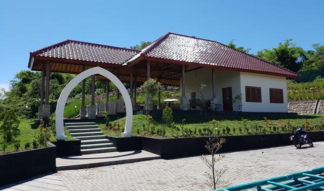 Fasilitas ekowisata yang dibangun KIFC di TWA Gunung Tunak